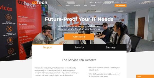 AZTech IT Solutions | IT Support MSP Milton Keynes