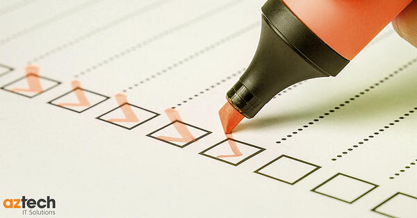 IT Strategy Checklist