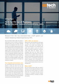 VoIP for the Small Business