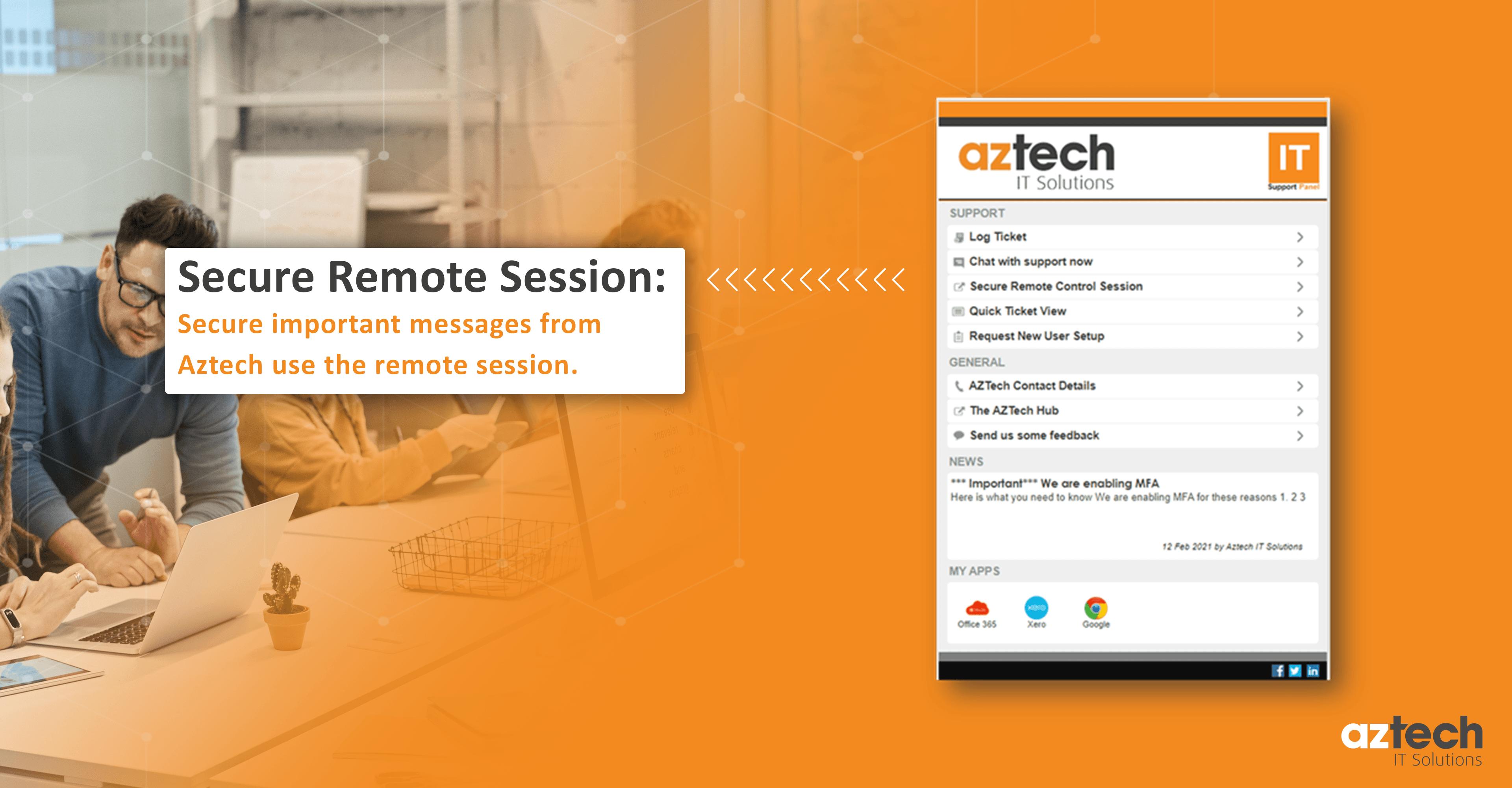 Aztech Desktop App