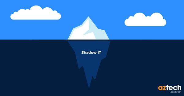 Shadow IT, Iceberg, Iceburg, Hidden IT