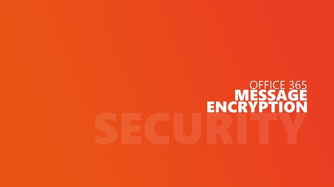 Use Office Message Encryption